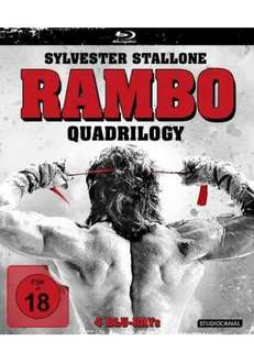 [media-dealer] Rambo Quadrilogy FSK 18 auf Bluray für 29,99 Euro VSK-frei