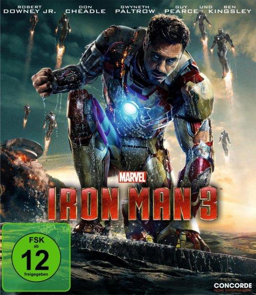 Iron Man 3 [Blu-ray] für 9,99€ bei Amazon.de