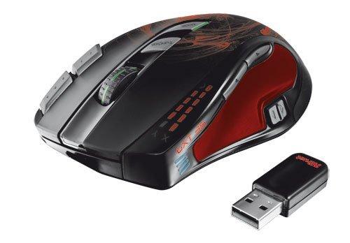 [notebooksbilliger.de] Trust GXT 35 Wireless Gaming Maus mit Lasersensor (5600 dpi, 11 Tasten) für 49,90 € ohne Vsk