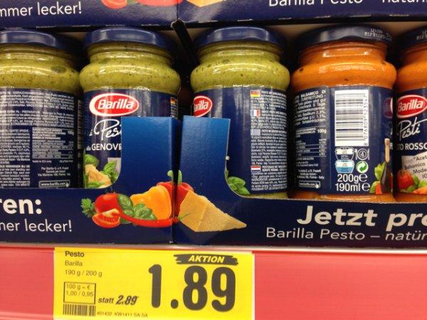 Barilla Pesto - [Netto o. H.] Bundesweit