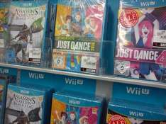 [Lokal Berlin Saturn Alexanderplatz] Wii U Asassins Creed 4: Black Flag 25€, Just Dance 4 Wii U 9.99€, Just Dance Wii U 2014 25€ Ps3: Splinter Cell Black List  Freedom Edition 25€ PC/XBox360/Ps3: Castlevania-Lords of Shadow 2-Premium Edition 69€