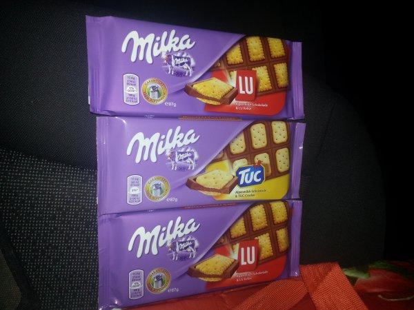 Drei Tafeln Milka Schokolade für 1,78 Euro / Rechnerisch eine Tafel 0,59 Euro