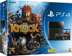 Playstation 4 + Knack @ Amazon UK WHD