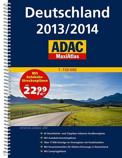 ADAC MaxiAtlas auf Buch.de bestellen und mit 9,26 EUR Gewinn @ Momox eintauschen