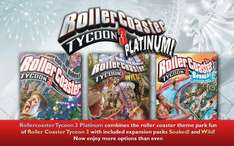 Rollercoaster Tycoon 3:Platinum für 2,54€ @ Nuuvem (No VPN, STEAM - MAC/WIN)
