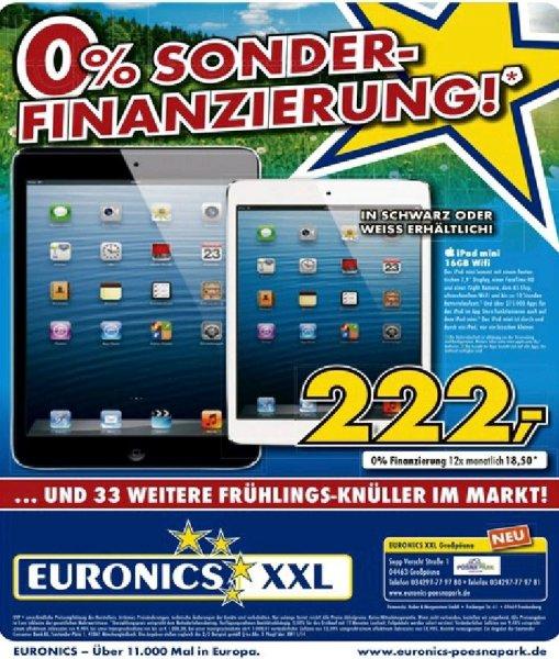 [Lokal Leipzig] Ipad mini 16 GB wifi Euronics