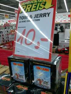 (MediaMarkt Schorndorf) Tom & und Jerry. The Complete Classic Collection - 12 DVDs