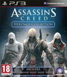 Assassin's Creed: Heritage Collection (PS3) für 32€@Game