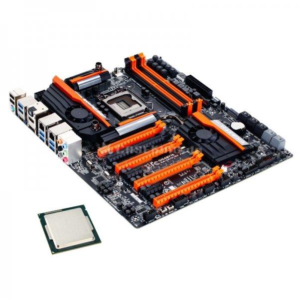 Gigabyte Z87X-OC Force + Intel i5-4670K für nur 419,90€ (Günstigster Preis sonst 541,11€!)