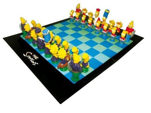 Schachspiel The Simpsons für 19,95€ inkl. VSK @ Elfen