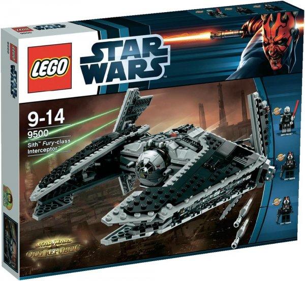 LEGO® Star Wars™ 9500 Sith™ Fury-class Interceptor™ für 51€ @SMDV