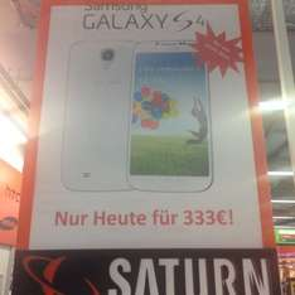 [Lokal] samsung galaxy s4 für 333€