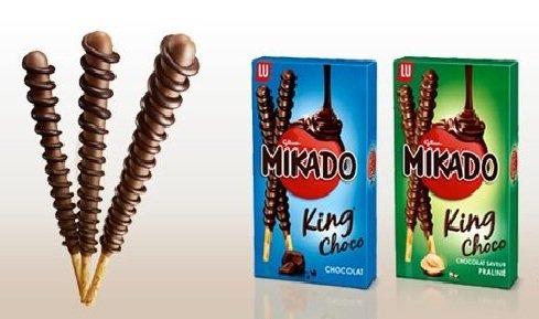 [real bundesweit 17.03.-22.03] Mikado King Choco für effektiv 0,39€ pro Packung durch coupies-App