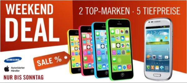 iPhone 5c 32GB @ Cyberport Weekend Deal 499€