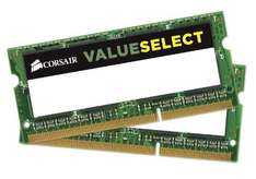 16 GB SO-DIMM Kit Corsair ValueSelect, DDR3L-1600, CL11 für 95,84 EUR inkl. Versand