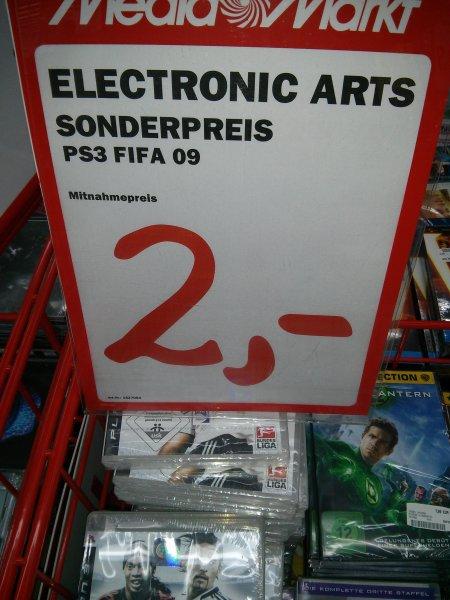 [Lokal] MediaMarkt Bayreuth: Fifa 09 (PS3) für 2€