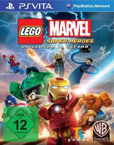 Lego Marvel Superheroes (PS Vita) Download Code für 19.90€