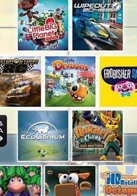 PS Vita: 10 Spiele (LittleBigPlanet,Wipeout, Lemmings, MotorStorm RC, ....) für 14,99€ ( Download)