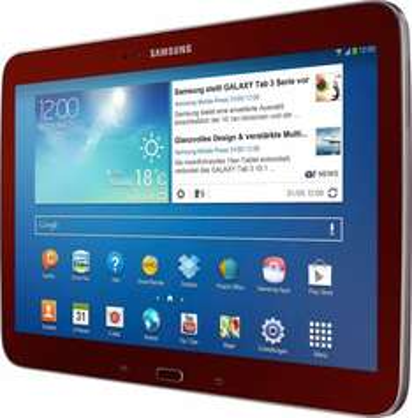 Samsung Galaxy Tab 3 10.1 16GB WiFi für 222€ (rot), 224,91€ (weiß) oder 238€ (schwarz) @Amazon.de