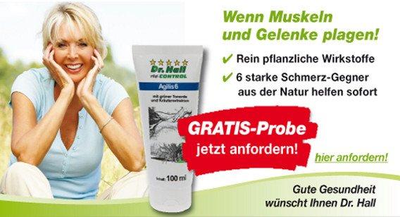 Dr. Hall vital-CONTROL Agilis 6 Gel Probe bestellen   +  2 x 5€  *begrenzte Anzahl verfügbar*