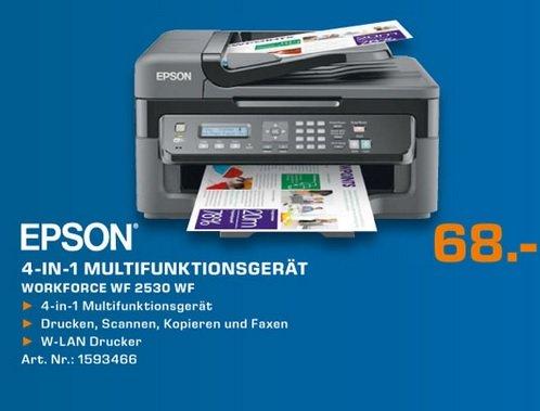 Epson WorkForce WF-2530WF für 68€,Toshiba Stor.e Canvio Desktop 3TB für 79€ Lokal [Saturn Aachen]