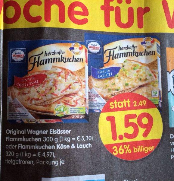 Bundesweit [Treff 3000]Wagner Elsässer Flammkuchen 300g/320g