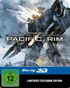 [Amazonblitzangebot] : Pacific Rim 3D Steelbook (exklusiv bei Amazon.de) [3D Blu-ray] [Limited Edition]