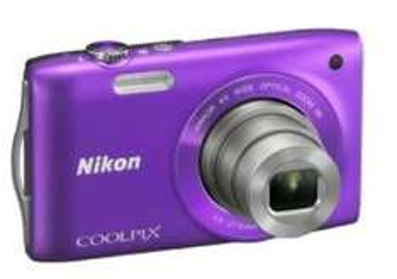 Nochmal ZAVVI.COM - Nikon Coolpix S3300 Compact Digital Camera - Purple (16MP, 6x Optical Zoom, 2.7 Inch LCD) -  59,80 €
