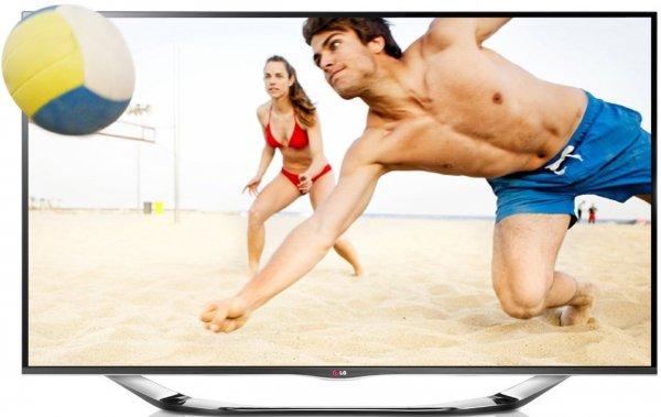 LG 55LA6918 139 cm (55 Zoll) Cinema 3D LED-Backlight-Fernseher, EEK A+ (Full HD, 400Hz MCI, WLAN, DVB-T/C/S, Smart TV) silber