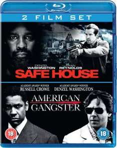 (UK) Safe House (2012) / American Gangster 2 x Blu-ray für 8,36€ @ Zavvi