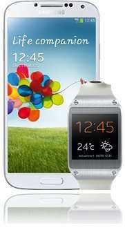 Samsung Galaxy S4 & Galaxy Gear White Bundle