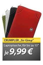 "Crumpler™ - 15"" Laptopsleeve ""SIRG15W"" (4 Farbvarianten) für €9,65 [@MeinPaket.de]"