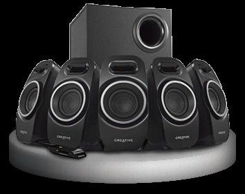 Creative A550 BLACK 5.1 SOUNDSYSTEM *begrentze Stückzahl*
