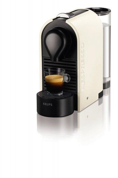 [WHD] Krups XN 2501 Nespresso U Kapselmaschine / 0,8 l Wasserbehälter / pure cream