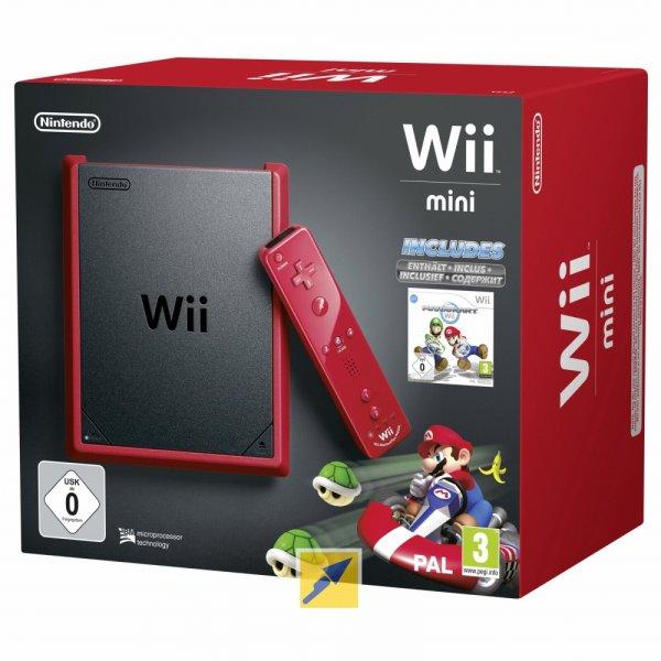 Nintendo Wii mini + Mario Kart Wii Bundle (Demoware) für 88€ @Technik Direkt