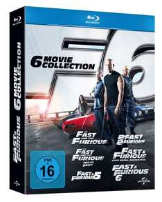 [BLU-RAY] Fast and Furious 1 - 6 @ MediaMarkt.de / Amazon.de für EUR 30,00