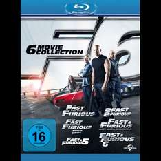 Fast and Furious 1-6 Blu Ray Box