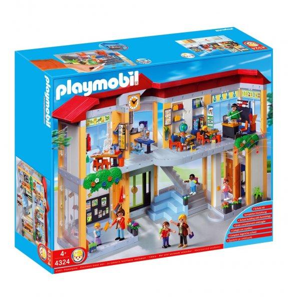 PLAYMOBIL ® Große Schule mit Einrichtung 4324 @galeria-kaufhof 80,99€