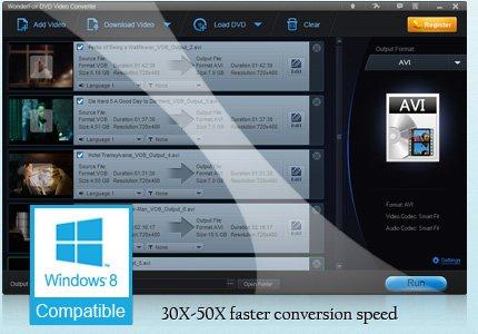 Wonderfox DVD Video Converter - Vollversion kostenlos