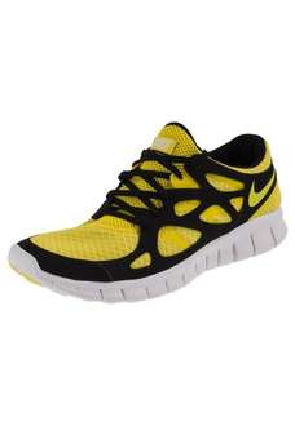 Nike Free Run II in gelb/schwarz nur 54, 95 € [outfitter.de]