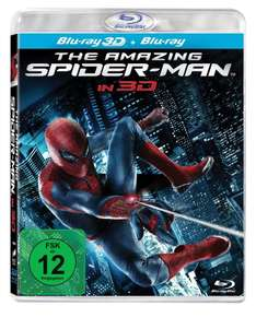 [Amazon] 3D-Blu-ray: The Amazing Spider-Man (+Blu-ray) 16,97€ (Prime: 13,97€)