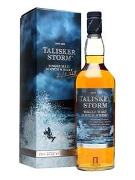 Talisker Storm mit Classic Malts Nosingglas Single Malt Scotch Whisky