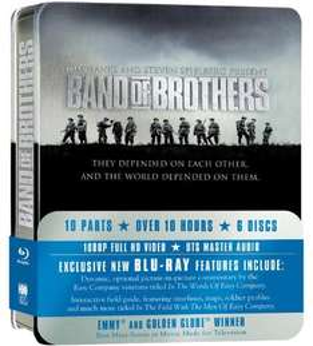 Band Of Brothers: Complete HBO Series - Blu Ray - Metallbox - Nur Originalton