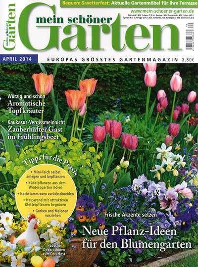 """Halbjahresabo """"Mein schöner Garten XL"""" mit 20€ Universalgutschein für 24€ (effektiv 4€)"""