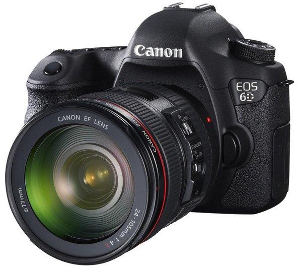 CANON Canon EOS 6D mit EF 24-105mm Objektiv - aus Frankreich über Pixmania
