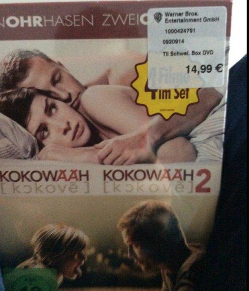 (Lokal Hannover) Till Schweiger 4 DVDs