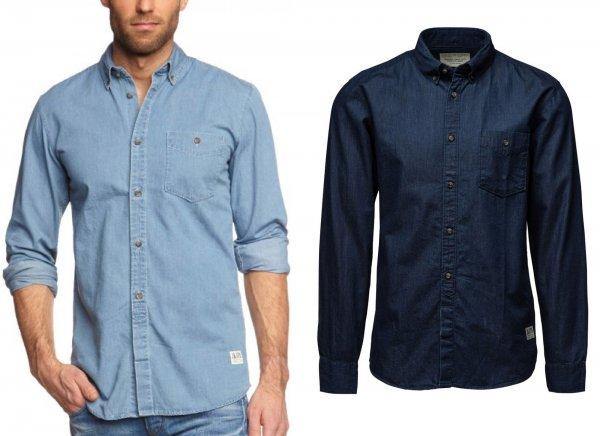 JACK & JONES Herren Freizeithemd MOVE - Jeans - 17,95€ + 3,50€ Versand