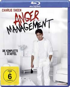 [Blu-ray] Anger Management - Staffel 1 (Pre-order) @ CeDe.de - Charlie Sheen