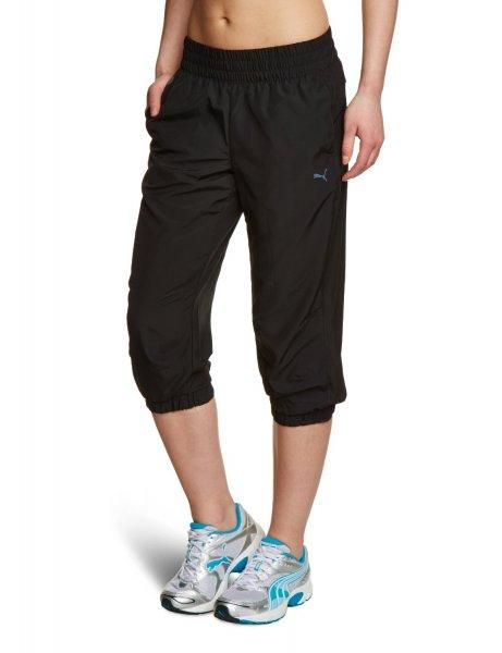 [Amazon Prime] PUMA Damen Jogginghose Ess Woven 3/4 Pants, schwarz 8,99€ statt 29,95€ für alle Größe
