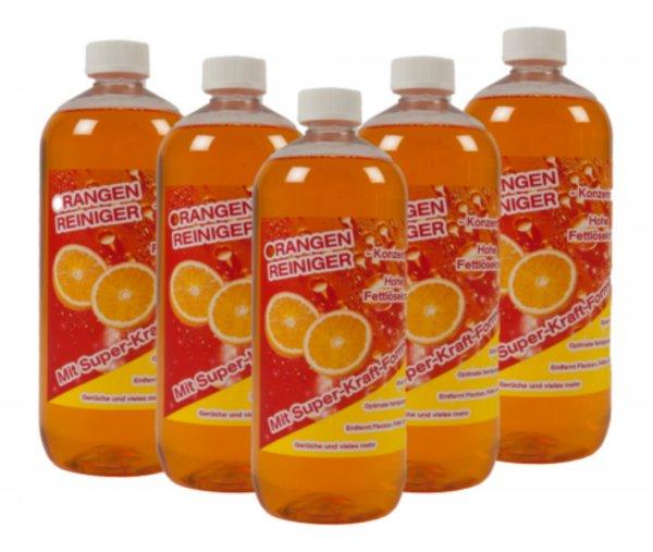 5 x 1 Liter Orangenölreiniger Konzentrat für  27,40 Euro inkl. Versand bei ebay